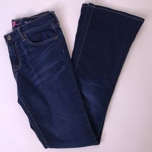 7 For Al Mankind Girls Haylie Flare Jeans, 14